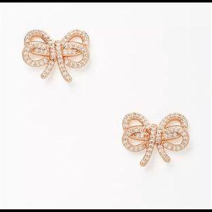 NWT Kate Spade ♠️Bow Meets Girl Earrings